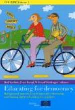 EDC/HRE Volume I: Educating for Democracy